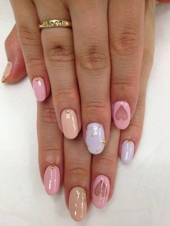 Creative Nail Art Designs for Valentine's Day 2014__08