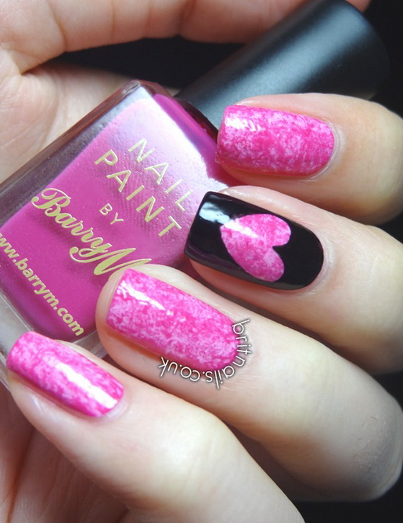 Creative Nail Art Designs for Valentine's Day 2014__10