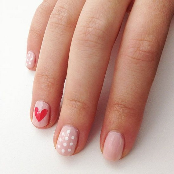 Creative Nail Art Designs for Valentine's Day 2014__11