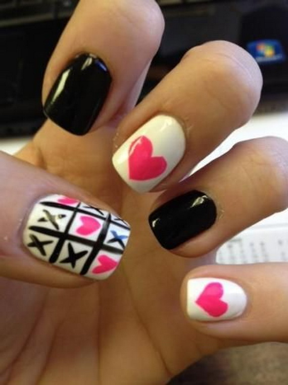 Creative Nail Art Designs for Valentine's Day 2014__13