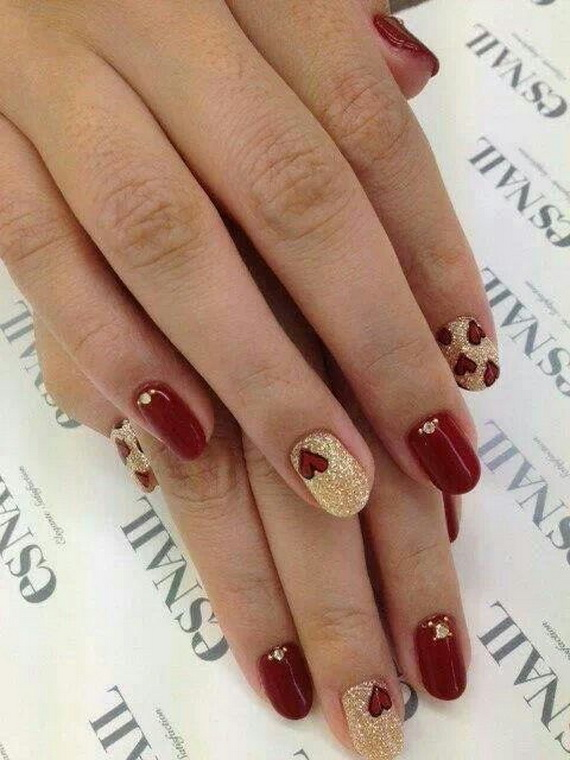 Creative Nail Art Designs for Valentine's Day 2014__15