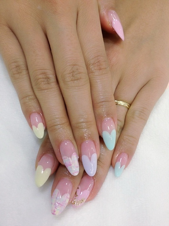 Creative Nail Art Designs for Valentine's Day 2014__17