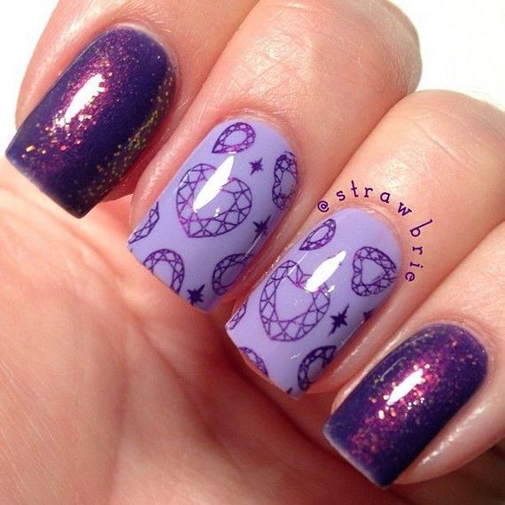 Creative Nail Art Designs for Valentine's Day 2014__23