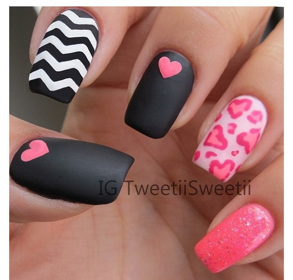 Creative Nail Art Designs for Valentine's Day 2014__35