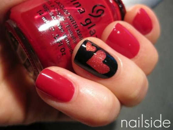Creative Nail Art Designs for Valentine's Day 2014__37