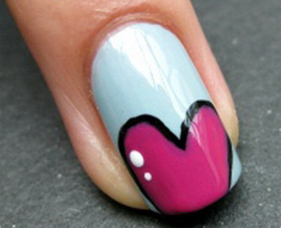 Creative Nail Art Designs for Valentine's Day 2014__42