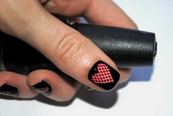 Creative Nail Art Designs for Valentine's Day 2014__48
