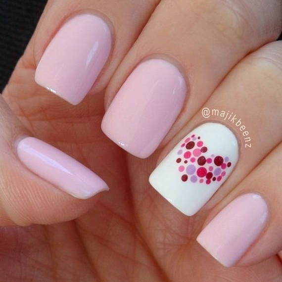 Creative Nail Art Designs for Valentine's Day 2014__56
