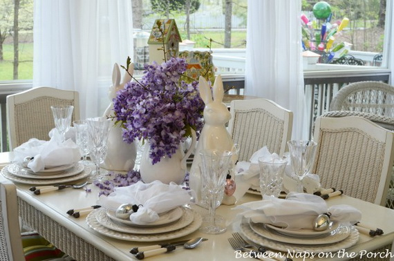 Creative Table Arrangements For A Welcoming Holiday _09