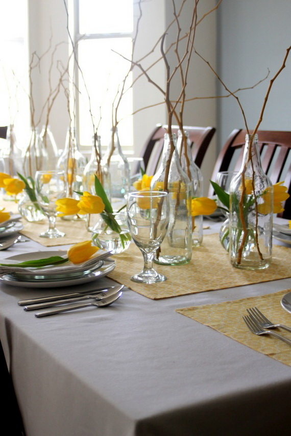 Creative Table Arrangements For A Welcoming Holiday _18