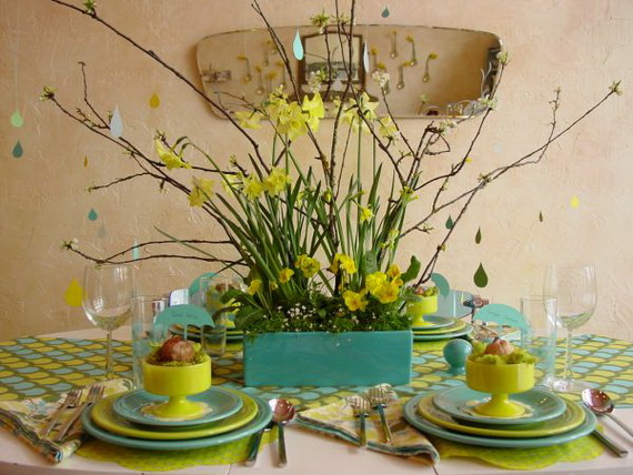 Creative Table Arrangements For A Welcoming Holiday _32