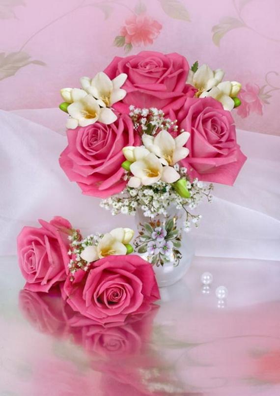Flower Decoration Ideas For Valentine's Day_01