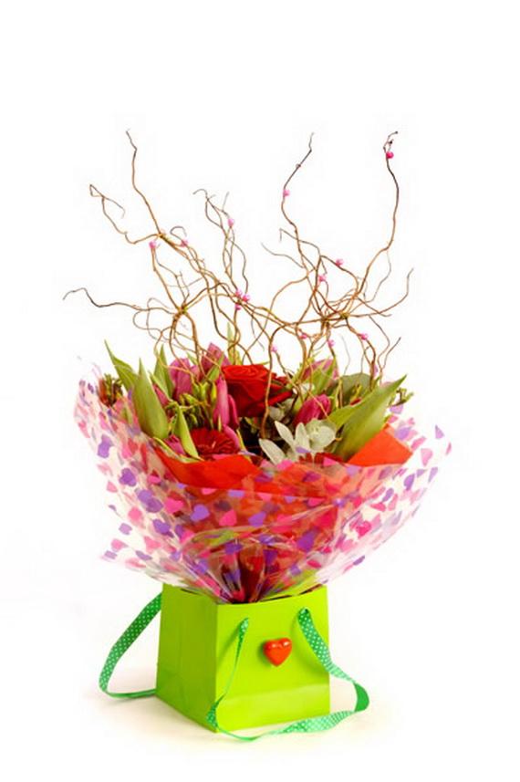 Flower Decoration Ideas For Valentine's Day_07