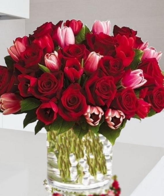 Flower Decoration Ideas For Valentine's Day_42