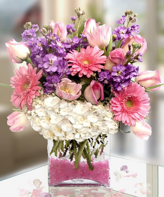 Flower Decoration Ideas For Valentine\'s Day - family holiday.net ...