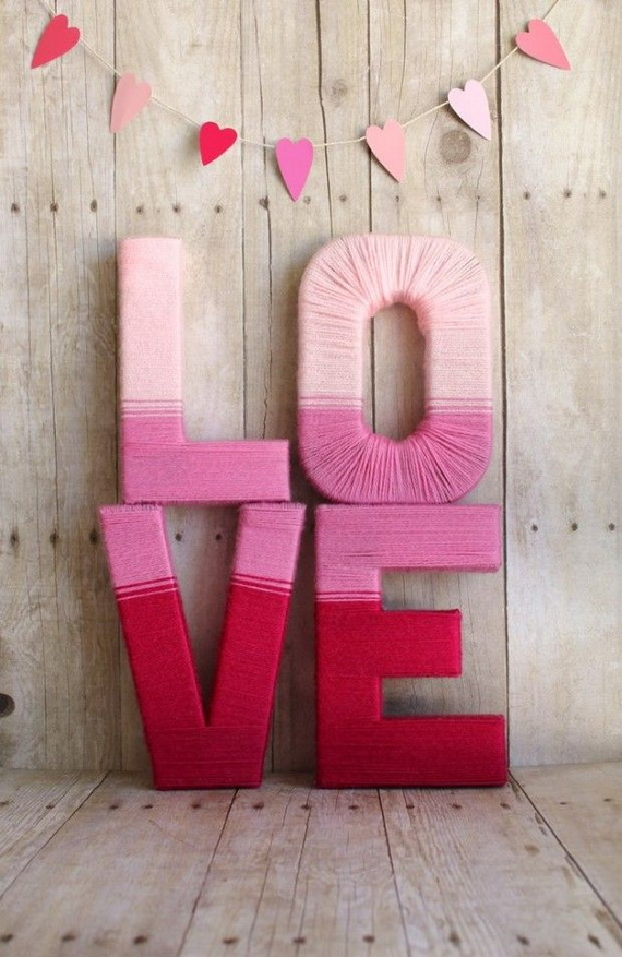 Handmade Valentine\'s Day Décor Ideas And Gifts - family holiday ...