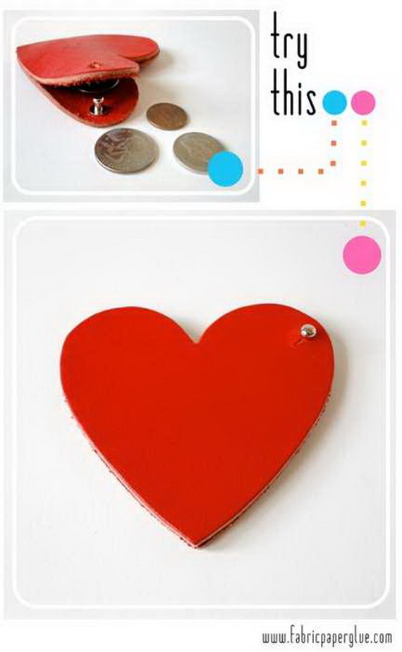 Hearts decorations-Homemade gift ideas Valentine's Day _25