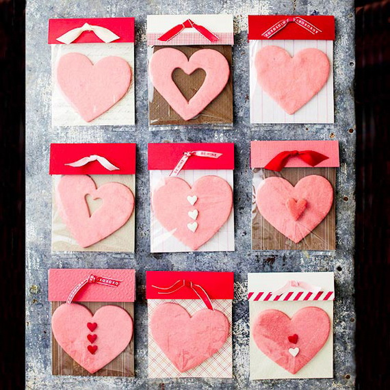 Hearts decorations-Homemade gift ideas Valentine's Day _3