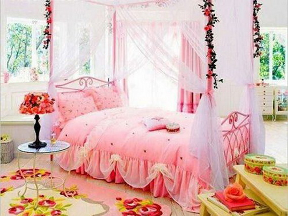 Pink Room Décor Ideas for Valentine's Day _07