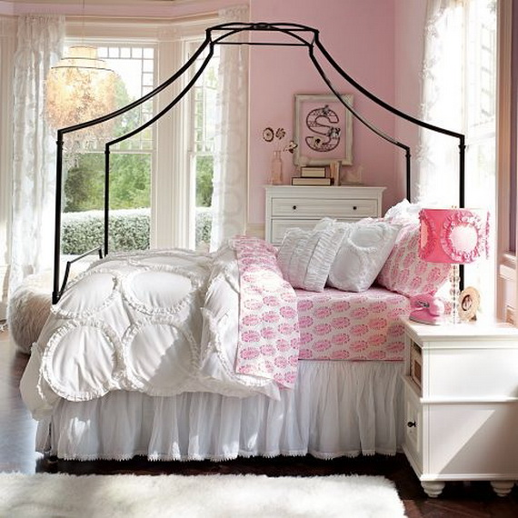 Pink Room Décor Ideas for Valentine's Day _09