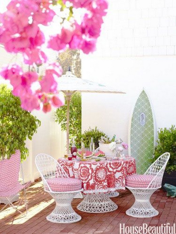 Pink Room Décor Ideas for Valentine's Day _19