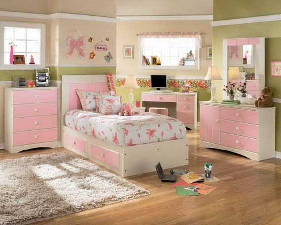 Pink Room Décor Ideas for Valentine's Day _21