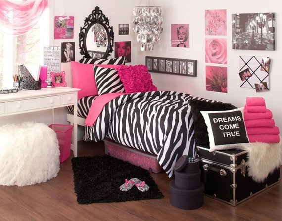 Pink Room Décor Ideas for Valentine's Day _29