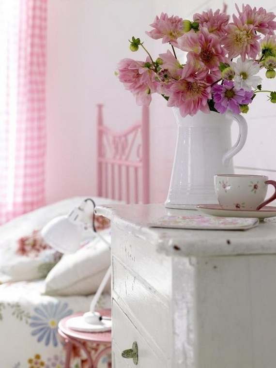 Pink Room Décor Ideas for Valentine's Day _31