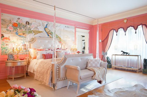 Pink Room Décor Ideas for Valentine's Day _35