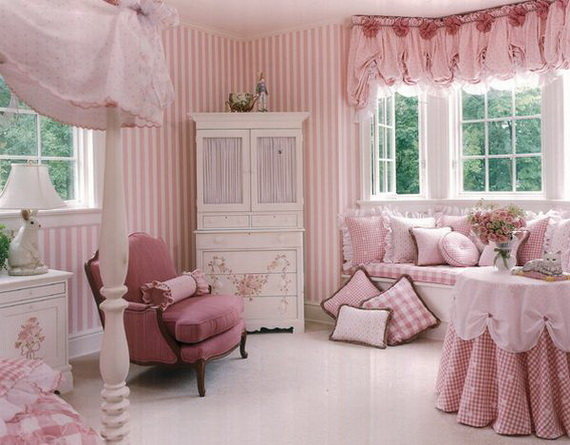 Pink Room Décor Ideas for Valentine's Day _37
