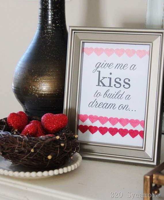 The Greatest Decoration Ideas For Unforgettable Valentine's Day_28