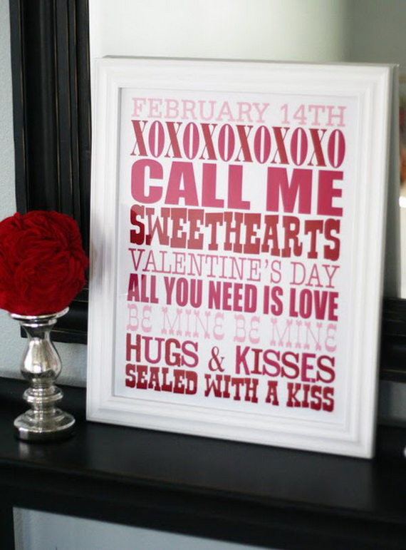 The Greatest Decoration Ideas For Unforgettable Valentine's Day_35