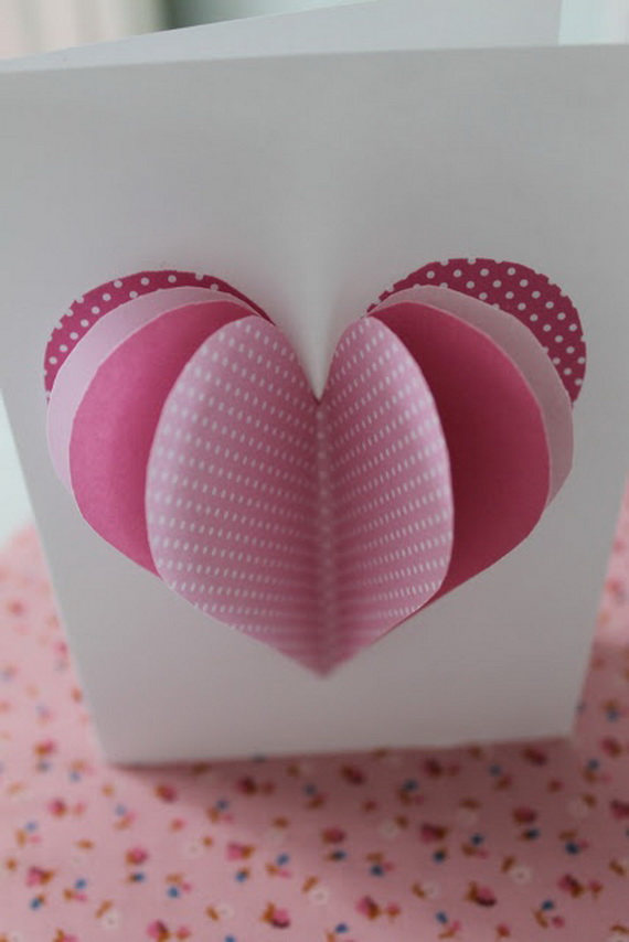 Unique homemade valentine card design ideas family for Creative valentine day cards