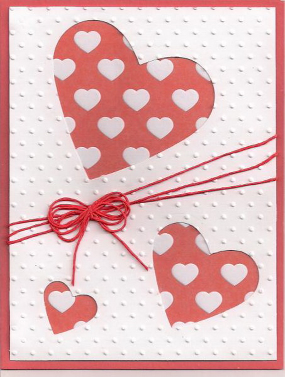 Unique Homemade Valentine Card Design Ideas family holiday – Valentine Card Image