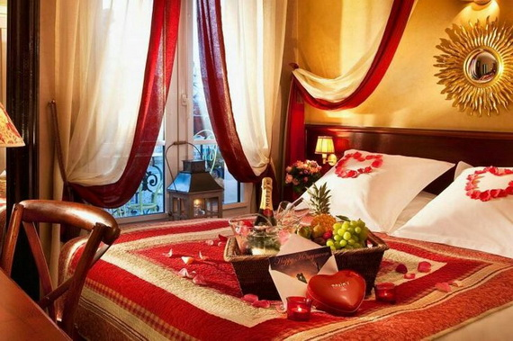 Valentine's Day Bedroom Decoration Ideas for Your Perfect Romantic Scene_56