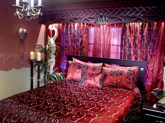 Valentine's Day Bedroom Decoration Ideas for Your Perfect Romantic Scene_67