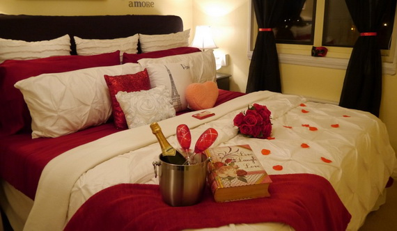 Valentine's Day Bedroom Decoration Ideas for Your Perfect Romantic Scene_85