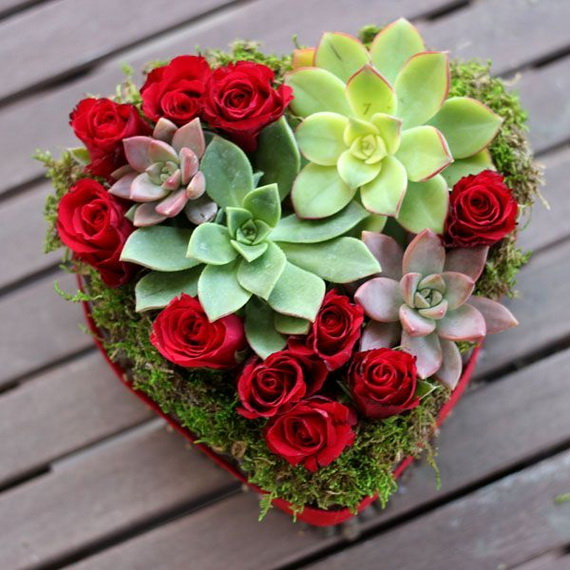 Valentine 39 s day flowers and bouquets 35 for Arrangements for valentines day