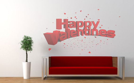 Wall Decal For Valentine's Day_14