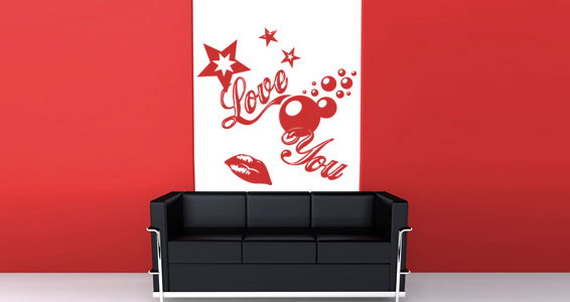 Wall Decal For Valentine's Day_53