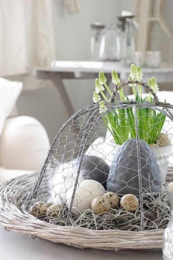 50 Amazing Easter Centerpiece Decorative Ideas For Any Taste_29