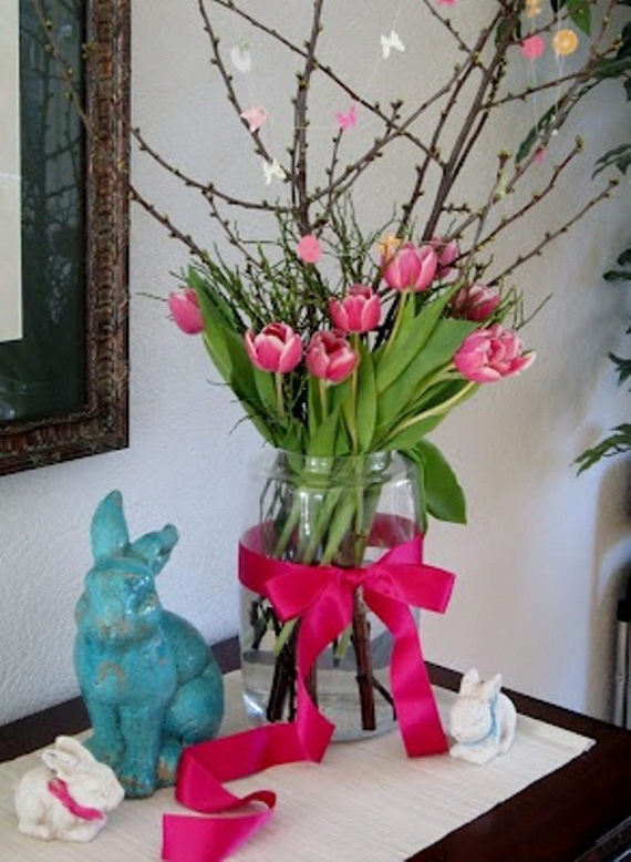 50 Amazing Easter Centerpiece Decorative Ideas For Any Taste_44