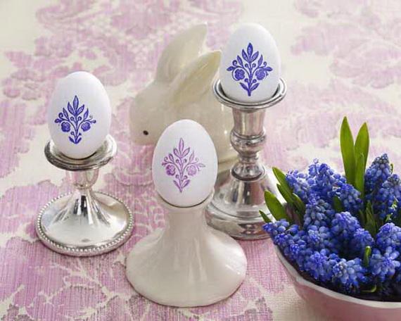 Eier mit Ornamenten