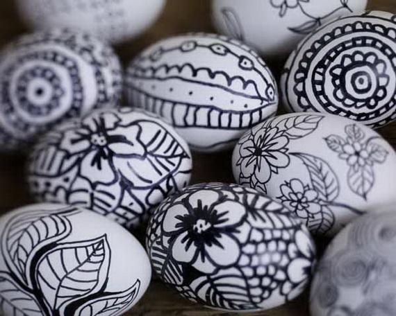 Ostern: Bemalte Eier
