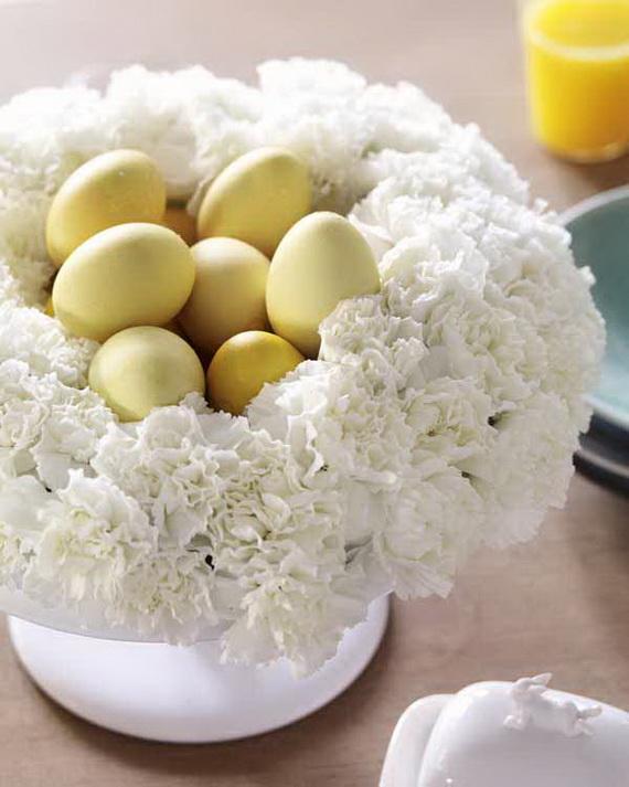 Ostern: Nelken-Kranz