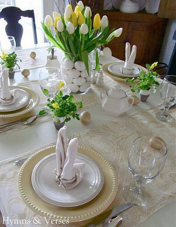 Celebrate The Season With Easter Decorations  (23)