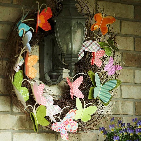 Easter and Spring Door Decoration Ideas_11
