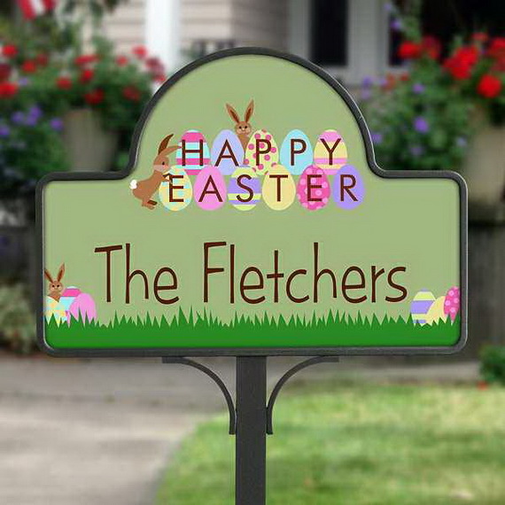 Easter and Spring Door Decoration Ideas_34