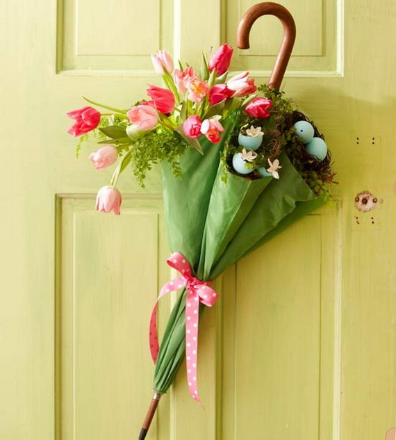 Easter and Spring Door Decoration Ideas_58
