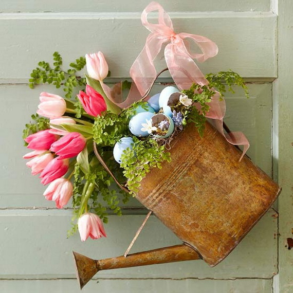 Easter and Spring Door Decoration Ideas_59